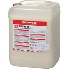 Rockwool Rockforce - водно-дисперсионная грунтовка, базальтовая теплоизоляция